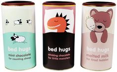 Bed Hugs Hot Chocolate by Ben Lambe, via Behance