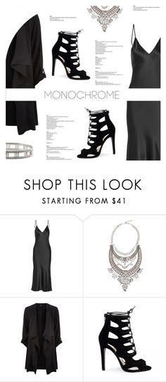 """""""Make It Monochrome"""" by antemore-765 ❤ liked on Polyvore featuring Protagonist, Eye Candy and Tiffany & Co."""