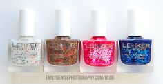 Very Emily » Lekker Lacquer Holiday Collection Swatches