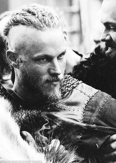 Ragnar in the show Vikings, can I say sexy!?