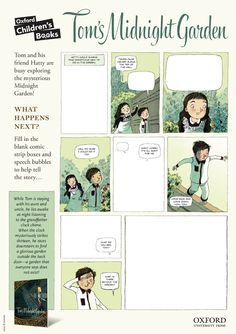 Create your own magical comic board with this fun activity sheet!
