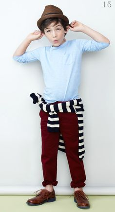 J Crew Kids- love the baby blue and brown!