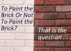 1000 Images About Brick House On Pinterest Painted Bricks Painted Brick Houses And Bricks