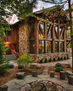 6,423 отметок «Нравится», 23 комментариев — Custom Timber Homes (@customtimberhomes) в Instagram: «Tag a friend you'd like to be here with. . #cabinlife #camp #cottage #timberframe #vacation…»