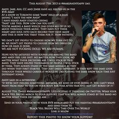 I don't care that this was from two years agoclan let's do it again this year. Andy is an amazing person and completely deserves this!