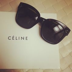 Celine New Audrey sunglasses...most likely going to get these