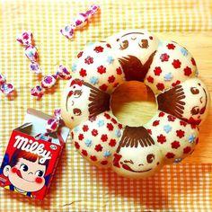 Milky Pecco Chan pull-apart bread