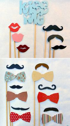 mustache props for your photo booth @Marissa Aguilar    http://www.etsy.com/shop/livelaughlovelots?ref=seller_info
