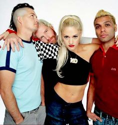No Doubt. Another band with a female lead vocalist that has blessed the music industry with great music! I'm patiently waiting for the new album to drop! Gwen has done so much with her life it's ridiculous. She had a great solo career but I am ready to hear some more No Doubt.