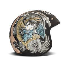 motomood: DMD Geisha helmet  motomood:  DMD Geisha helmet