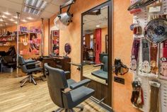 Die Haarfee Friseur in Mühlhausen, jetzt mit virtuellem Rundgang.