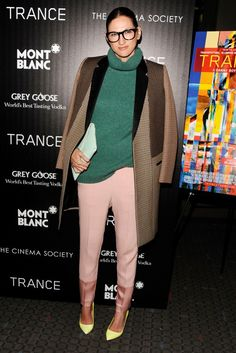 Jenna Lyons where do i begin glasses funky fashion GENIUS!