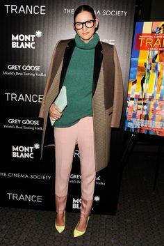 Jenna Lyons where do i begin glasses funky fashion GENIUS!