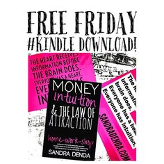 WEBSTA @ sandradenda - Tomorrow is Friday Pay-Day! From midnight tonight I'm offering a free #kindle download for 24hours!!!It is a home-work-shop and I've been told this book is a 'keeper' because you will work on yourself, bust blocks and get to know how your intuition talks to you! Everyone has intuition but from the research I've done most people don't know how their intuition talks to them.This book is 3 in 1!You can replace the word Money with any other topic you wish to improve on…