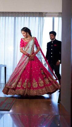 End to End Customization with Hand Embroidery & beautiful Zardosi Art by Expert & Experienced Artist That reflect in Blouse , Lehenga & Sarees Designer creativity that will sunshine You & your Party. Indian Wedding Outfits, Bridal Outfits, Indian Outfits, Bridal Dresses, Eid Outfits, Eid Dresses, Wedding Lehnga, Indian Bridal Lehenga, Bridal Sari