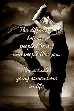 People like me..