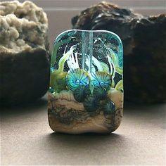 Glass Bead Ocean Scene SRA ** love **