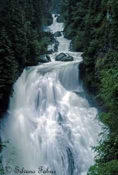River waterfall