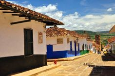 Barichara, Colombia: Hostal from outside