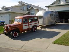 Willys Wagon camping | My Willys Wagon and Airstream