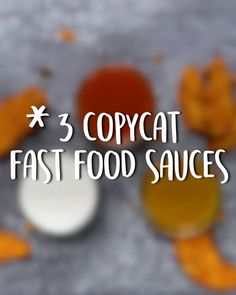 3 copycat Fast food Sauces Wendy's buttermilk ranch, Arby's signature sauce and Chick-fil-A honey mustard Arby's Sauce, Taco Sauce, Taco Bell Avocado Ranch Sauce Recipe, Burger Sauces Recipe, Sauce Recipes, Arbys Sauce Recipe, Fast Recipes, Fast Food, Gastronomia