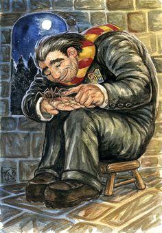 Hagrid and Aragog – The Harry Potter Lexicon Harry Potter Cartoon, Harry Potter Artwork, Harry James Potter, Harry Potter Universal, Harry Potter Characters, Harry Potter World, Slytherin, Hogwarts, Rubeus Hagrid