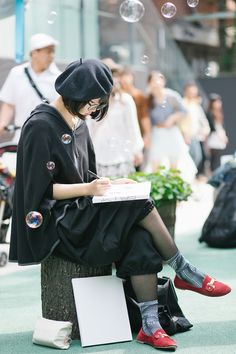 Street Style, girl charscter Tokyo: 59 photos of Japan's kawaii fashion at its best #streetstyle