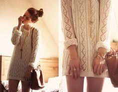 Sweater dress I need this
