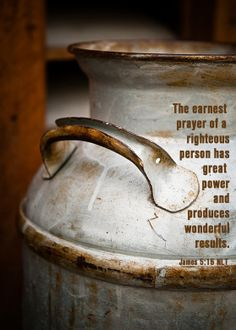 James 5:16...so grateful for the prayers of my dear friends.