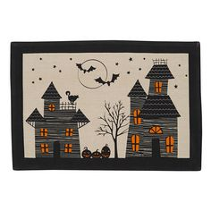 Haunted Hollow Printed Placemat
