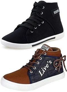 Ethics Men's Perfect Combo Pack Of 2 Synthetic Casual Sneakers Shoes - Multicolour (9): Buy Online at Low Prices in India - Amazon.in