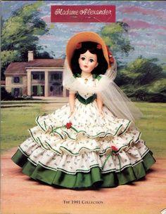 MADAME ALEXANDER Doll ~ Scarlett O'Hara