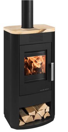 Salerno II Krbová kamna - HAAS+SOHN Stove, Home Appliances, Wood, Nature, House Appliances, Naturaleza, Range, Woodwind Instrument, Timber Wood