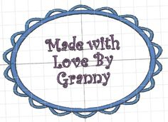 cool label for a quilt    http://designsbycuties.cuteembroidery.com/6865992.html