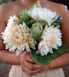 White bouquet Elegant&Modern