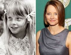 Celebrities Then And Now Gallery Jodie Foster: 1973 . Actors Then And Now, Celebrities Then And Now, Young Celebrities, Jodie Foster, Celebrity Kids, Celebrity Pictures, Famous Women, Famous People, Neil Patrick