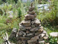 Backyard Landscaping, Firewood, Planets, Landscape, Gardening, Diy, Bumble Bees, Natural Garden, Rockery Garden