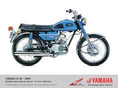 yamaha 180 - CS2E (1969)