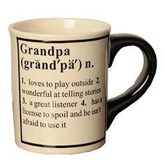 Tumbleweed 'Grandpa' Definition Occupational Coffee Mugs Tumbleweed http://www.amazon.com/dp/B003ZWB9J6/ref=cm_sw_r_pi_dp_IeGwwb0DEBHVC