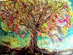 Clootie tree by Samantha Joan Tebbutt (@stebbutt)  https://scriggler.com/detailPost/story/53052 Their love, their wishes hang from Clootie trees-