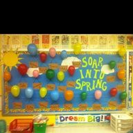 spring bulletin board ideas - Google Search