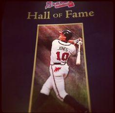 Chipper Jones, Brave, Atlanta, Career, Idol, Baseball Cards, Country, Sports, Hs Sports