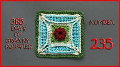 365 Days of Granny Squares Number 235
