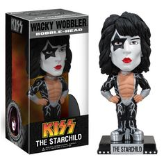 "Funko Kiss - Paul Stanley ""The Starchild"" Wacky Wobbler FunKo http://www.amazon.com/dp/B004H3BZFK/ref=cm_sw_r_pi_dp_yPT2wb1AHB3J5"