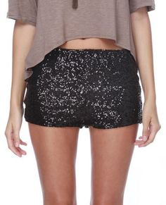 need me some sparkly shorts.