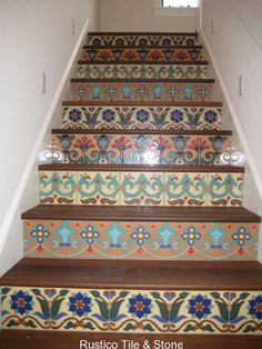Mikie Art » A life of art » Painted Stairs