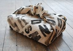 tea towel as gift wrap.  or wrap up a casserole you are bringing to someone.