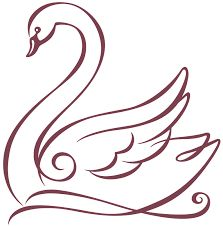 Hotel Bel-Air Swan - Graphis - Hotel Bel-Air Swan – Graphis Informations About Hotel Bel-Air Swan – Graphis Pin You can easily - Swan Painting, Fabric Painting, Hand Embroidery Designs, Embroidery Patterns, Schwan Tattoo, Swan Drawing, Stencil Patterns, Painting Patterns, String Art