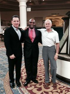 Welcome Charlie Strong And The University Of Louisville With Rosen Shingle Creek General Manager Dan Giordano Hotels Resorts Orlando Owner