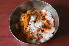 Prawn Masala / Spicy Prawn Masala / Shrimp Masala / Masala Shrimp - Yummy Tummy Prawns Fry, Spicy Prawns, Indian Prawn Recipes, Indian Dessert Recipes, Prawn Gravy, Prawn Dishes, Chili Lime Chicken, Chicken Tikka